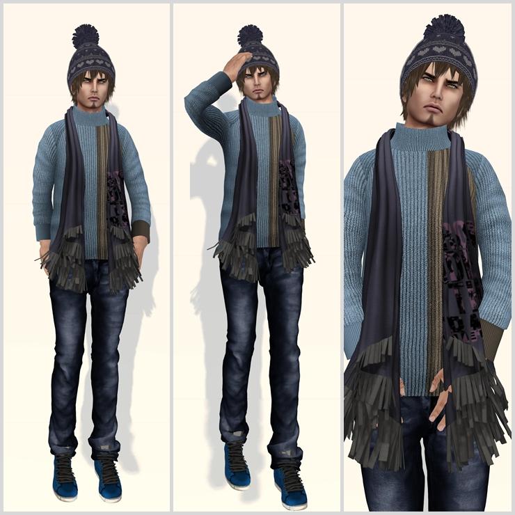 #77 - My blue scarf