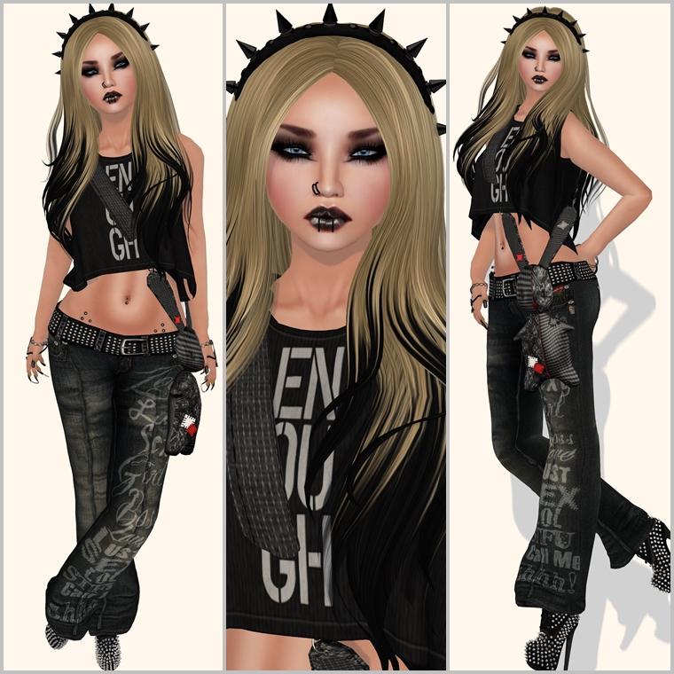 #496 - Goth girl
