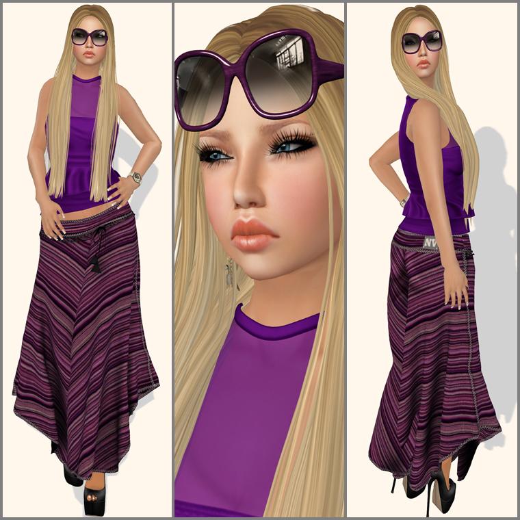 #695- Fashion girl
